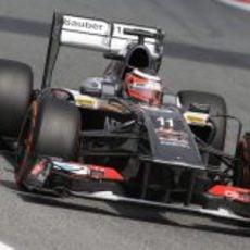 Nico Hülkenberg terminó frustrado la clasificación del GP de España