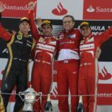Los ganadores del GP de España 2013