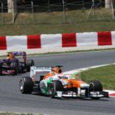 Paul di Resta terminó séptimo el GP de España 2013