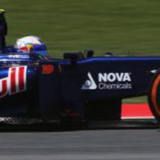 Daniel Ricciardo terminó de nuevo en los puntos