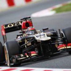 Kimi Räikkönen mostró un gran ritmo del E21