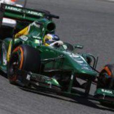 Charles Pic superó a Marussia en Montmeló