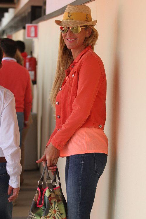 Alejandra Prat en el Gran Premio de España 2013