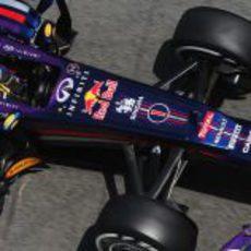 Sebastian Vettel a los mandos de su RB9