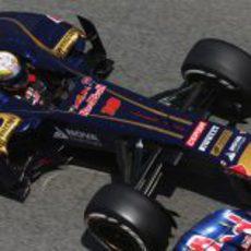 Jean-Eric Vergne empiza el GP de España 2013