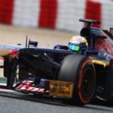 Jean-Eric Vergne afronta la clasificación del GP de España 2013