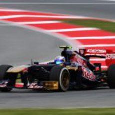 Daniel Ricciardo clasificó 11º en el GP de España 2013