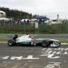 Una leyenda de la Fórmula 1 en Nordschleife
