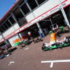 El trabajo en Force India ya empieza