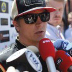 Kimi Räikkönen llega a Mónaco