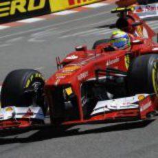 Felipe Massa fue cuarto en los Libres 1 y 2 de Mónaco