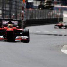 Fernando Alonso fue competitivo en los primeros entrenamientos de Mónaco