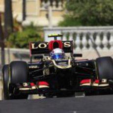 Romain Grosjean se perdió gran parte de los Libres 2 del GP de Mónaco