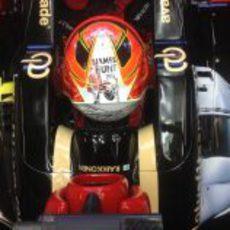 Decoración especial en el Lotus E21
