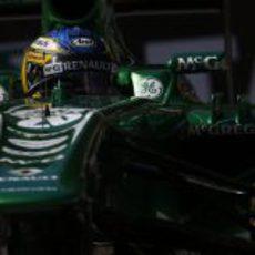 Charles Pic afronta los primeros entrenamientos en Mónaco