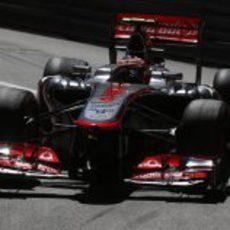 Sergio Pérez afronta su sexto GP con McLaren