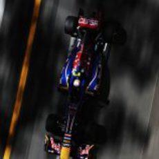 Plano aéreo del STR8 de Daniel Ricciardo