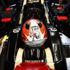 Kimi Räikkönen se acuerda de James Hunt