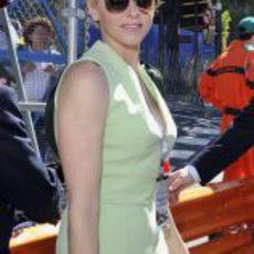 La princesa Charlene de Mónaco, presente en los libres