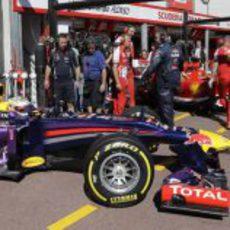 Red Bull y Ferrari, frente a frente