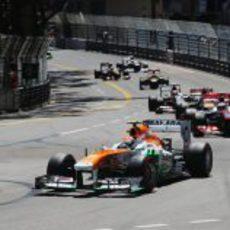 Adrian Sutil logró su mejor resultado en Mónaco