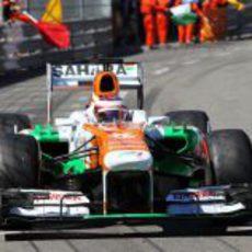 Paul di Resta no alcanzó los puntos en Mónaco