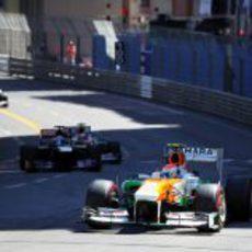 Adrian Sutil fue quinto en Mónaco