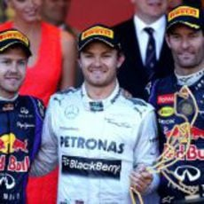 Podio del GP de Mónaco 2013