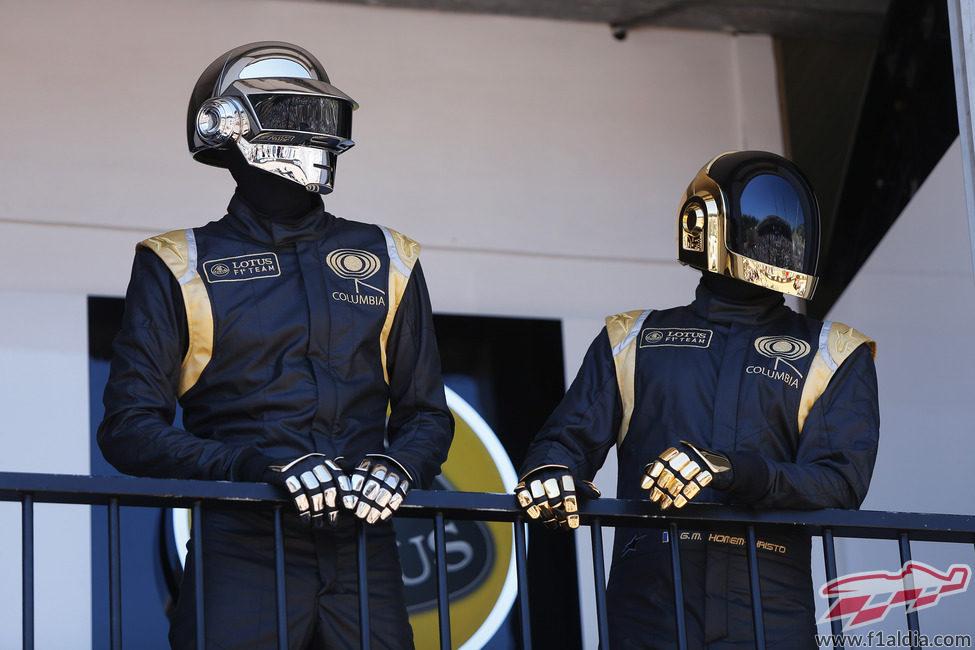 Los componentes de Daft Punk destacan en el principado de Mónaco