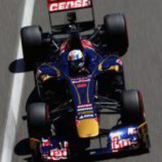 Jean-Eric Vergne cruzó octavo la meta en Mónaco