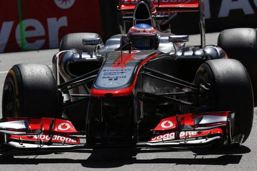 Jenson Button fue sólido en Mónaco