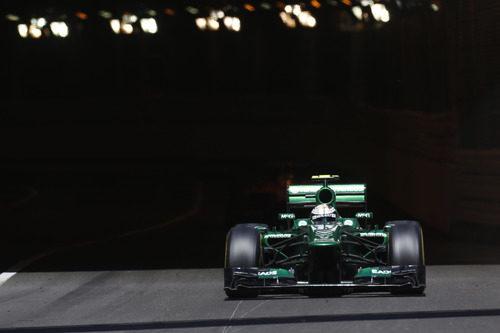 Giedo van der Garde tuvo un buen GP de Mónaco