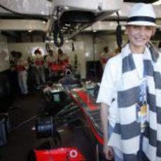 Cameron Diaz, invitada de McLaren en la Fórmula 1