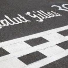 Recuerdo a Gilles Villeneuve en Montreal