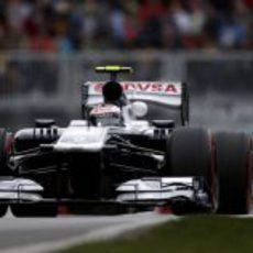 Valtteri Bottas rueda por primera vez en Montreal