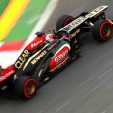 Kimi Räikkönen rueda en el Gilles-Villeneuve