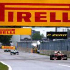 Pirelli, presente en los carteles del Gilles-Villeneuve