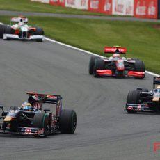 Los Toro Rosso pelean por no quedar últimos