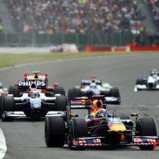 Webber intenta acabar en el podio