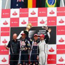 Los vencedores del GP de Gran Bretaña