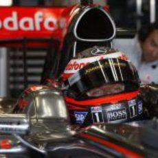 Kovalainen en el McLaren
