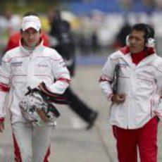 Glock y Juan Pablo Ramirez