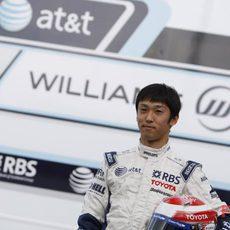 Nakajima en el GP de Alemania