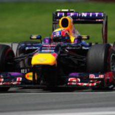 Mark Webber terminó cuarto en Montreal