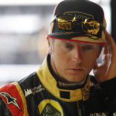 Kimi Räikkönen, pensativo antes del GP de Canadá