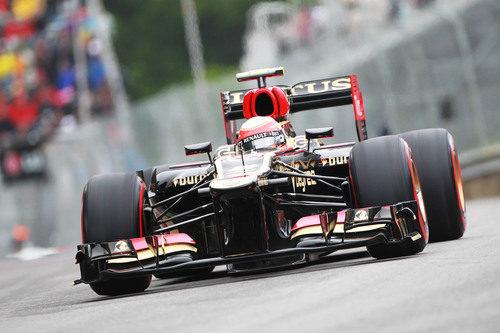 Romain Grosjean no pudo puntuar en Canadá