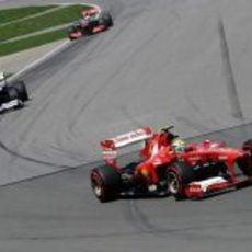 Felipe Massa inicia su remontada con superblandos