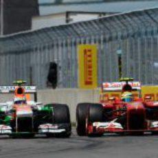 Felipe Massa emparejado con Adrian Sutil