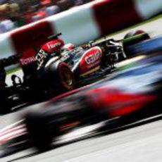 Kimi Räikkönen evoluciona en la pista de Canadá