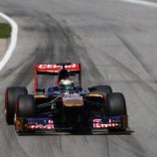 Jean-Eric Vergne utiliza el superblando en carrera